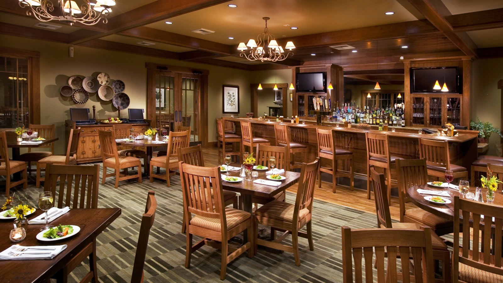 custom woodworking tables chairs and bars for bars and restaurants