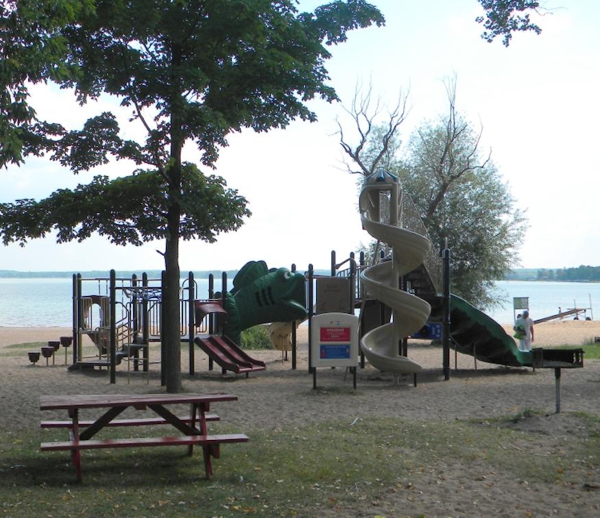 shell lake wisconsin playground