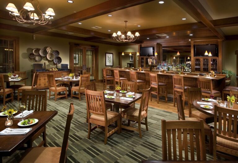 The dining area at Ridge Creek Country Club